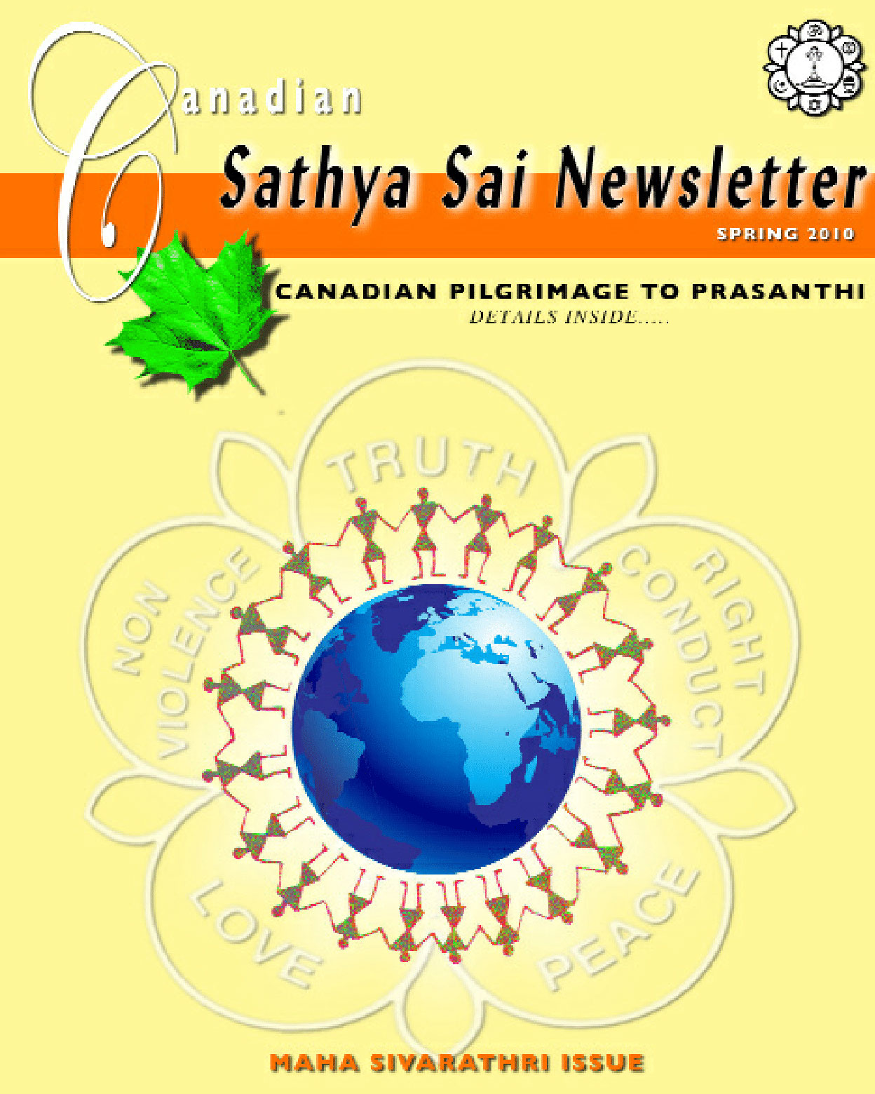 The Canadian Sathya Sai Magazine - Spring 2010
